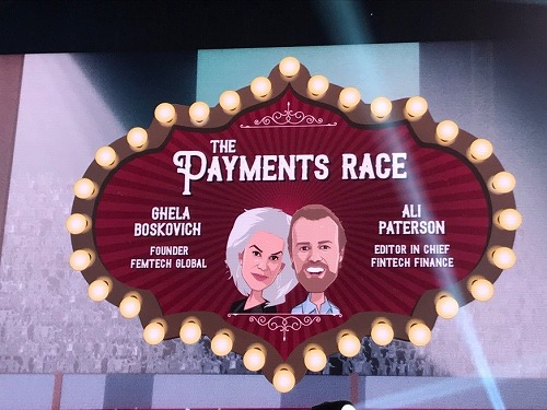 Money20/20 Europe のPayment Race