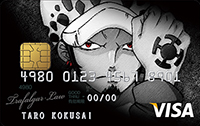 ONE PIECE VISA CARD